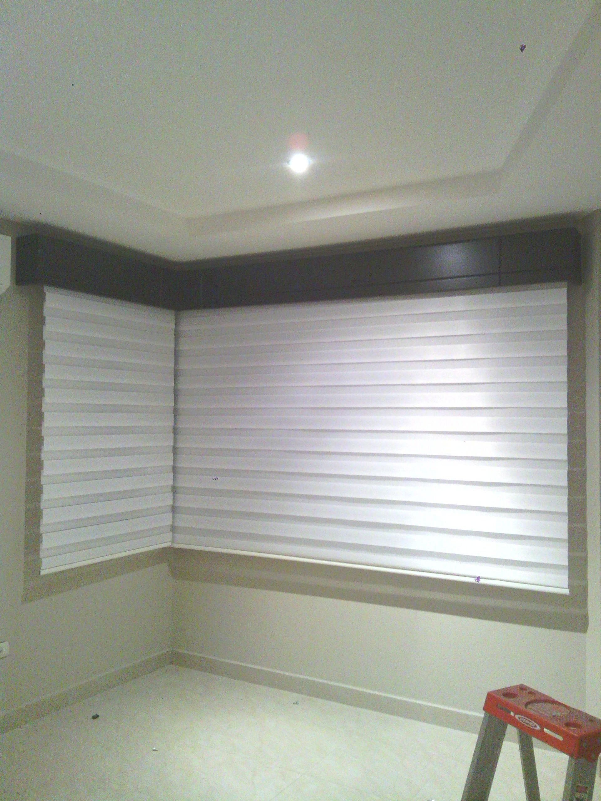 Cenefas para cortinas perfect cenefa de cortina de - Cortinas de madera ...