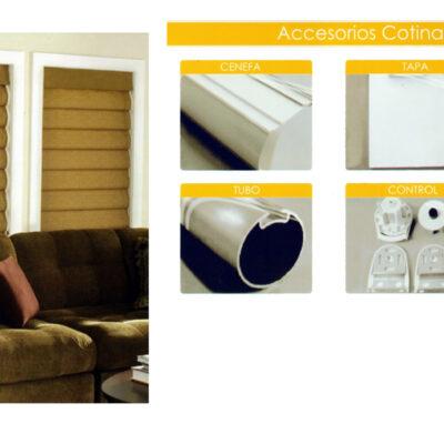 Accesorios cortina Triple Shade