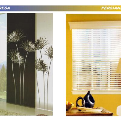Accesorios cortina Impresa / Persianas
