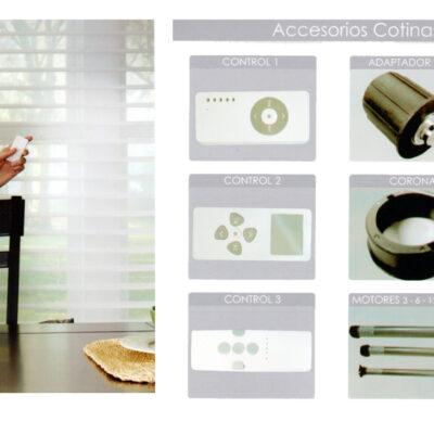 Accesorios cortina Motorizada